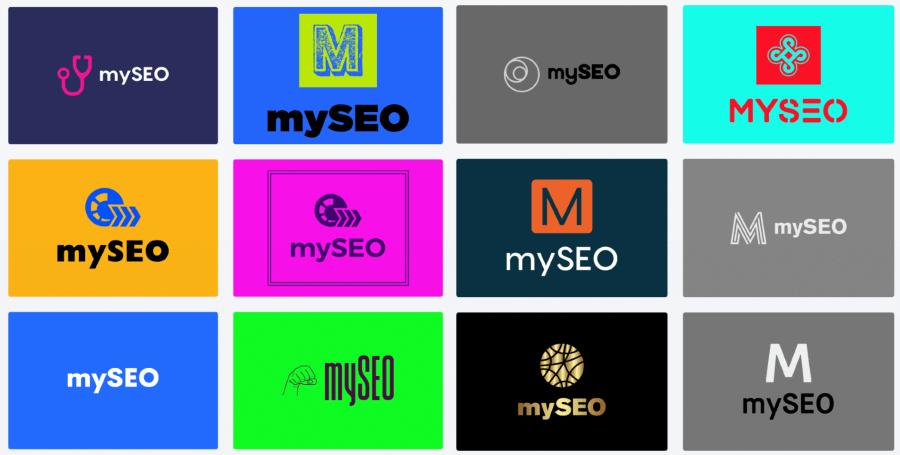 логотипы, сделанные looka.com